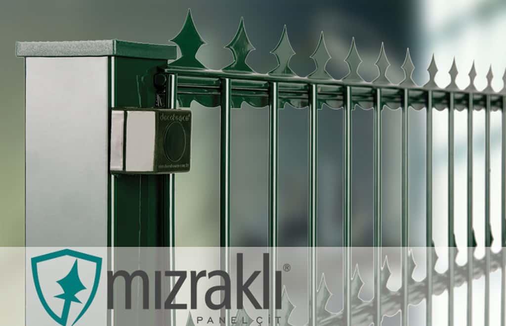 Mızraklı Panel Çit - ASÇİT Çit Sistemleri İstanbul