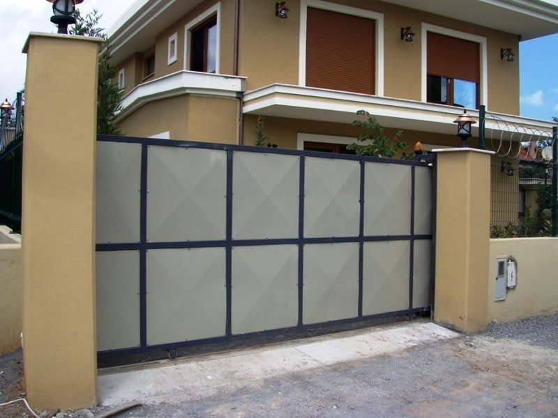 Sürgülü (Raylı) Kapılar