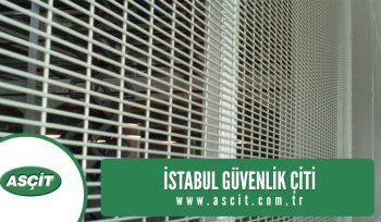 istanbul güvenlik çiti